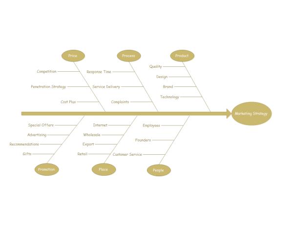 marketing strategy fishbone