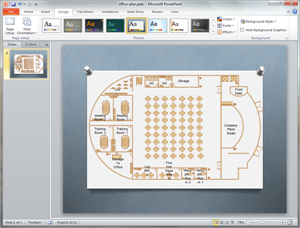 PowerPoint Office Plan Template