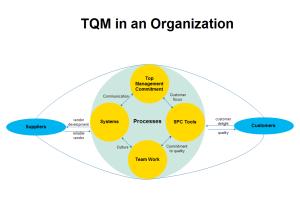Organization TQM Diagram Examples