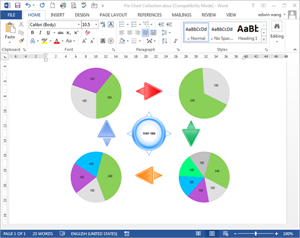 Free Pie Chart Templates For Word Powerpoint Pdf