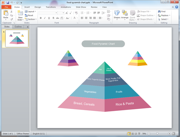 pyramid diagram templates for powerpoint