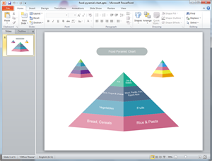 PowerPoint Pyramid Diagram Template