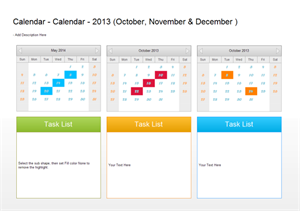 Calendário do Plano Trimestral