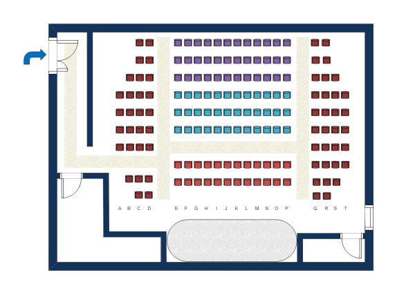 Seating Plan Template