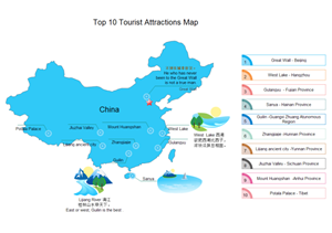 Tourist Attractions Map