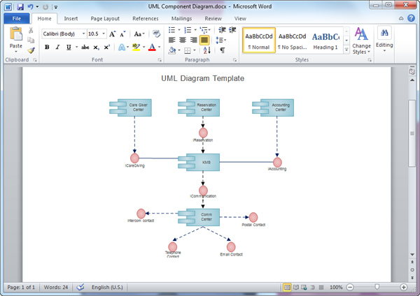 Uml diagram templates for word word uml diagram template ccuart Choice Image