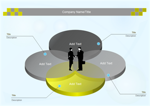 Diagramma di Venn a 4 cerchi