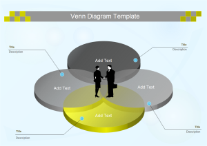 free venn diagram templates for word, powerpoint, pdf, Modern powerpoint