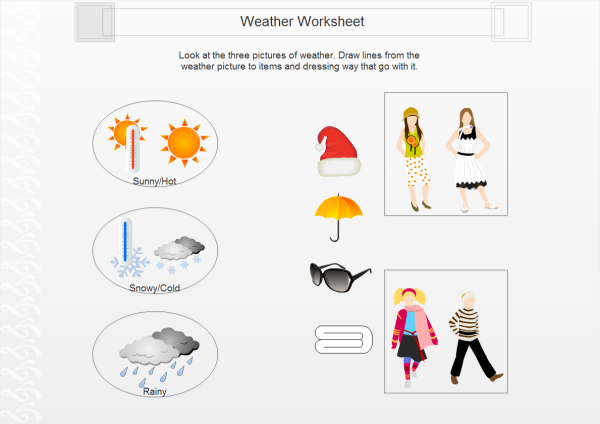 Weather Worksheet Template