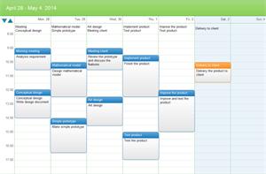 event planning calendar