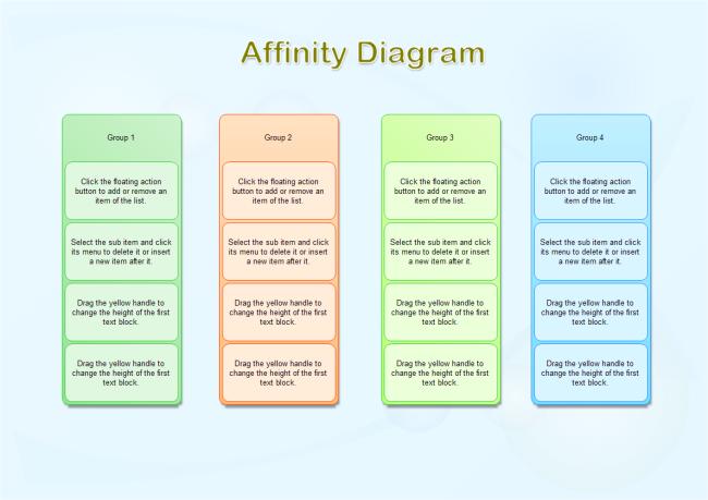 Diagram affinity diagram template free : Affinity Diagram : Free Affinity Diagram Templates