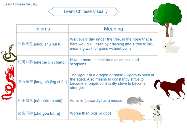 Learn Chinese Idioms Funnily