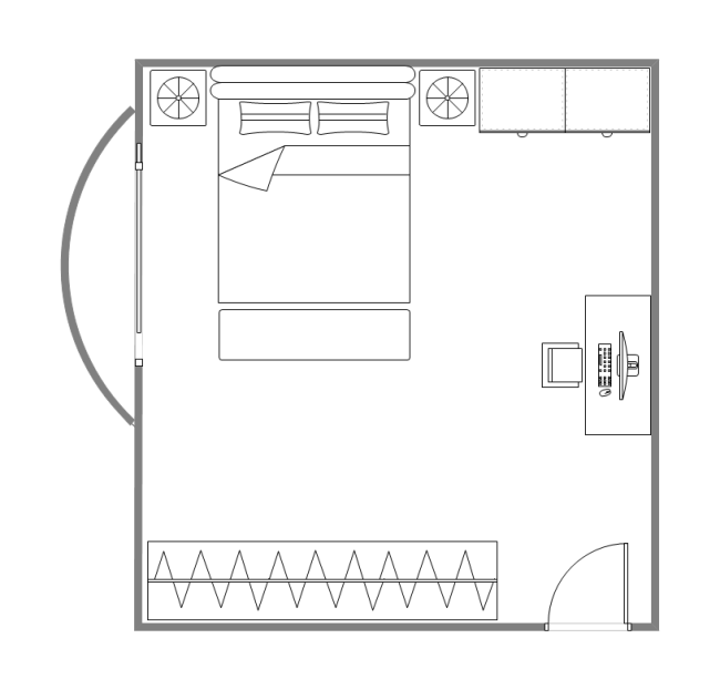 Bedroom design layout free bedroom design layout templates for Bedroom blueprint maker