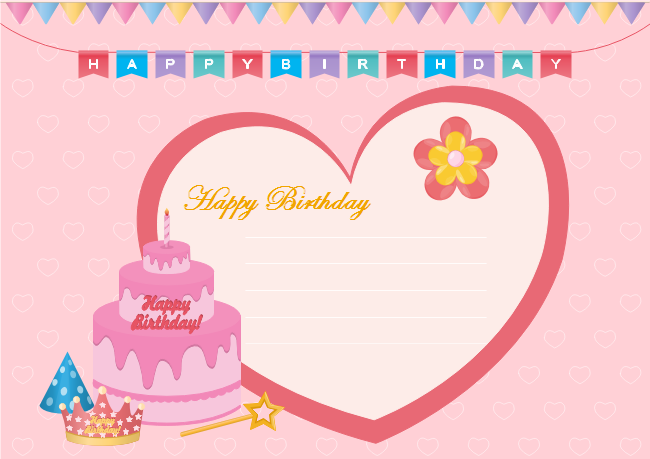 Description This Birthday Ecard Template Is Fully Editable Delight Your Loved Ones With A Truly Personalized Wish You Are Able To Change All The