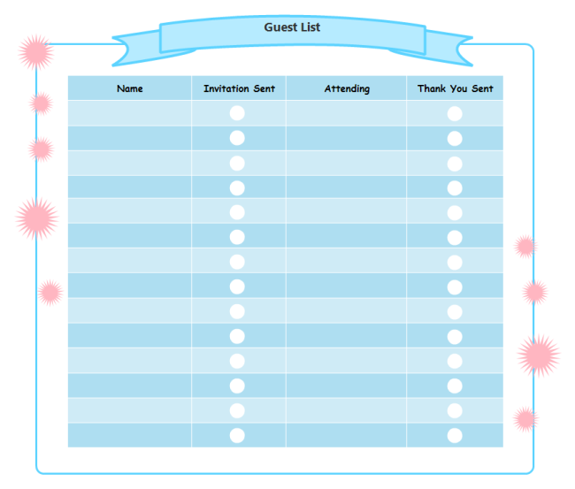 Printable Checklist Templates For Free Download  Free Printable Blank Checklist Template
