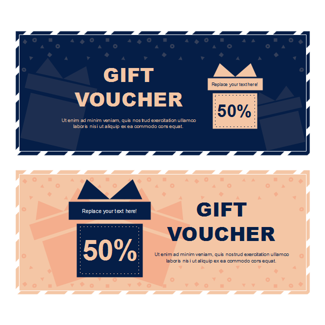 Blue Orange Gift Voucher