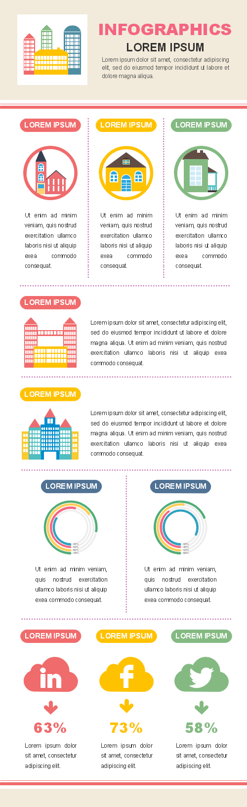 Building Types Infographic