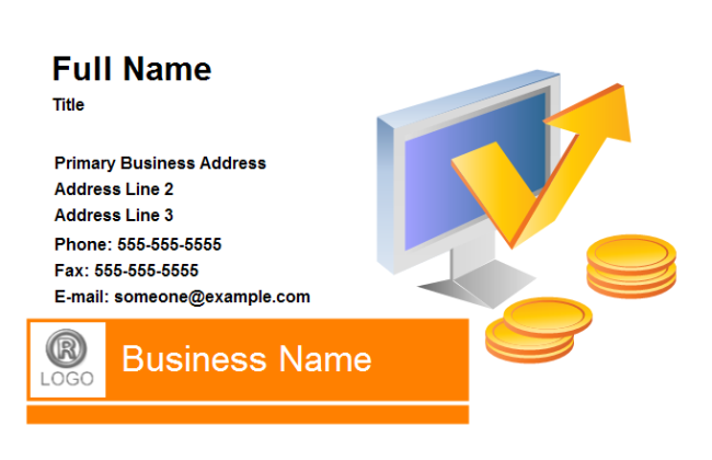 Business Card - Finance
