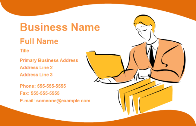 Business Card Service