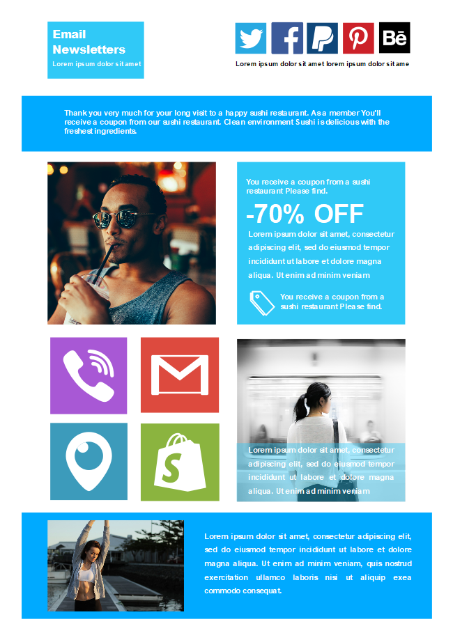 Business Email Newsletter