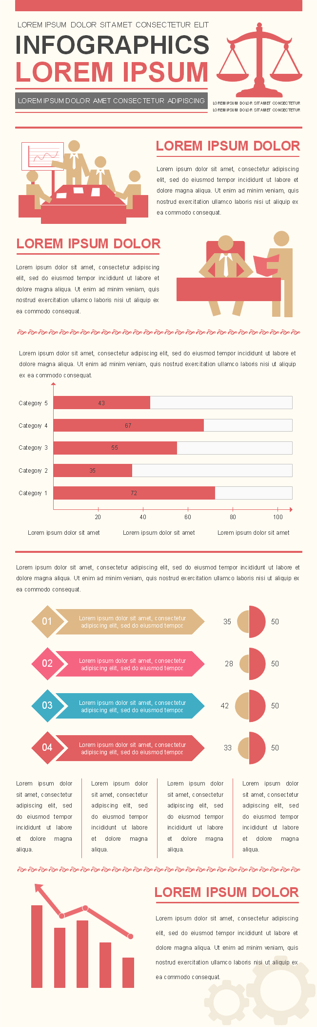 Business Infographics Template 4