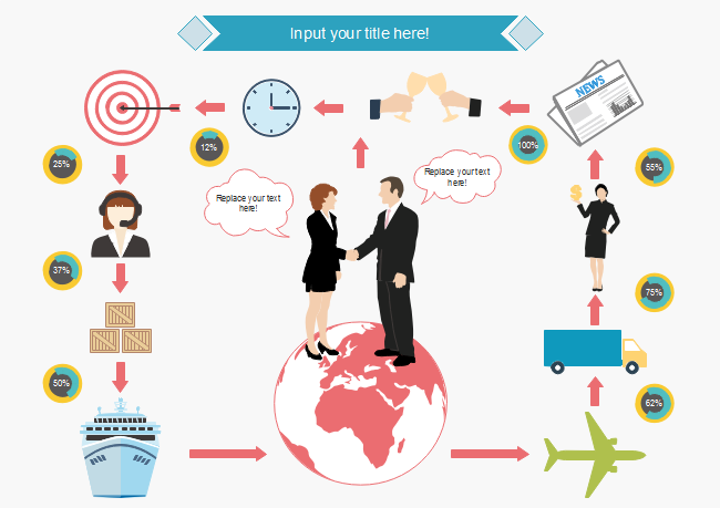 Business Process Infographic Free