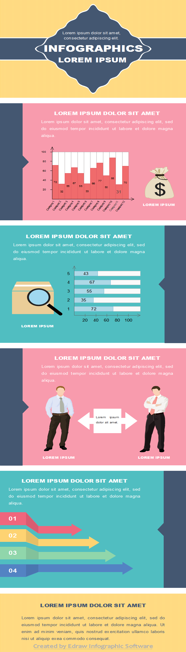 Business Infographics Template 2