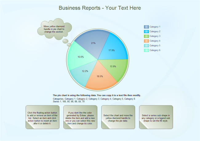 Business Reports Pie Free Business Reports Pie Templates