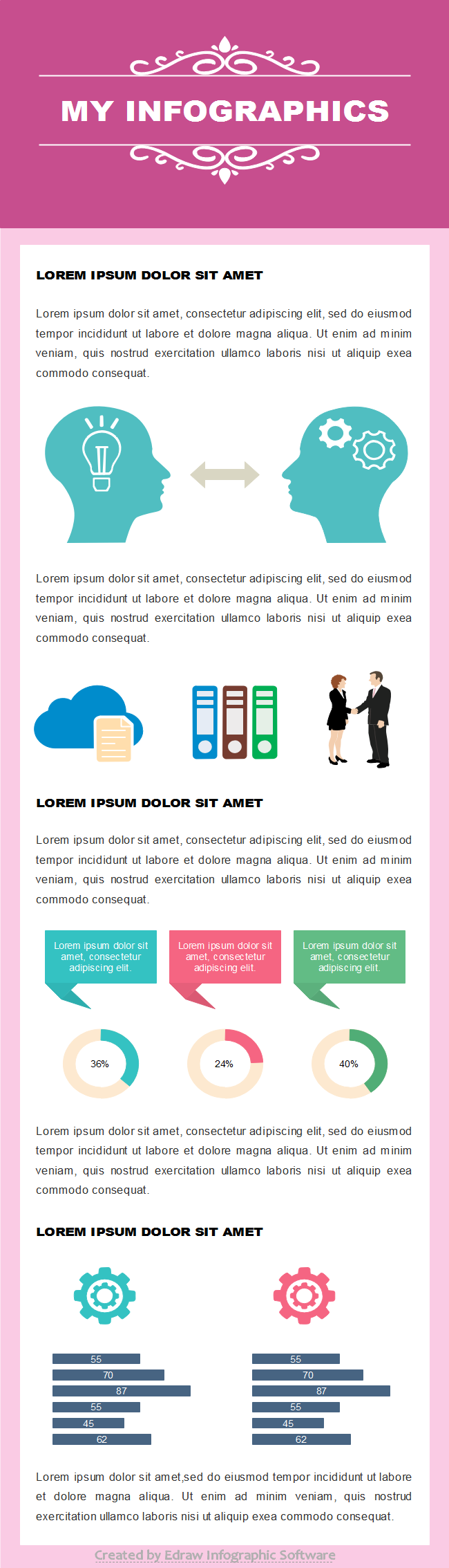 Business Infographics Template 3