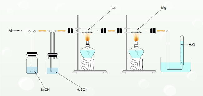 Chemical Reaction Illustration