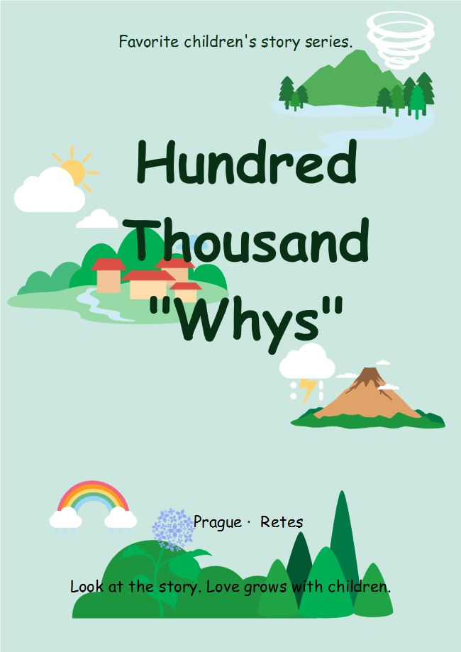 Children Questions Book Cover