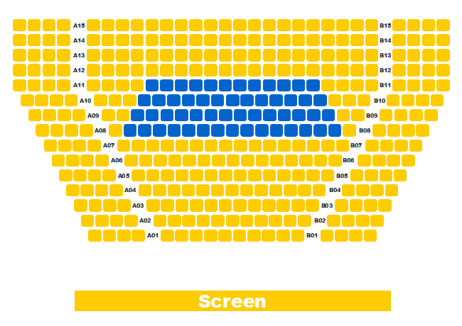 Cinema Seating Plan