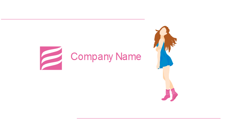 Clothing Industry Business Card Back