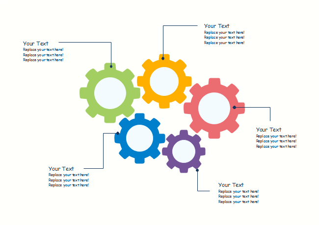 Colorful Gears Diagram