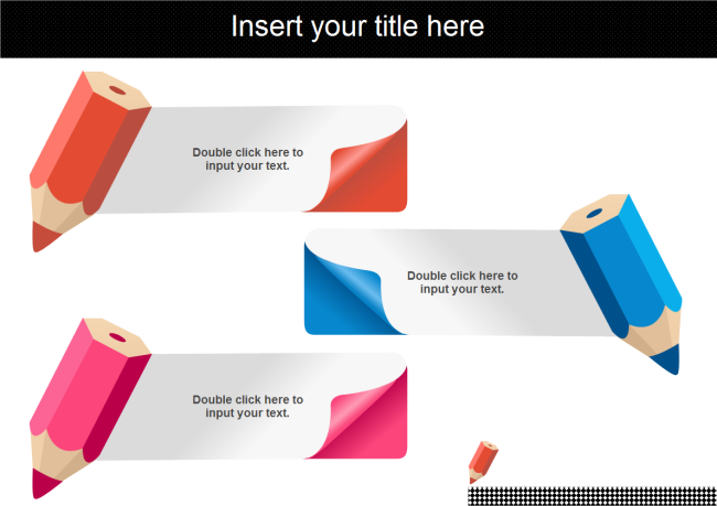 Colorful Pencils PowerPoint