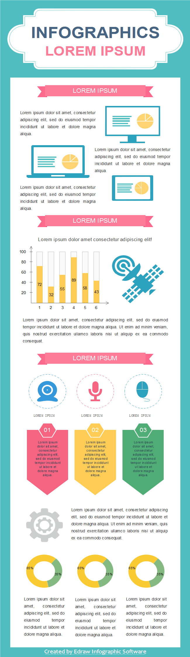 Technology Infographics Template 4