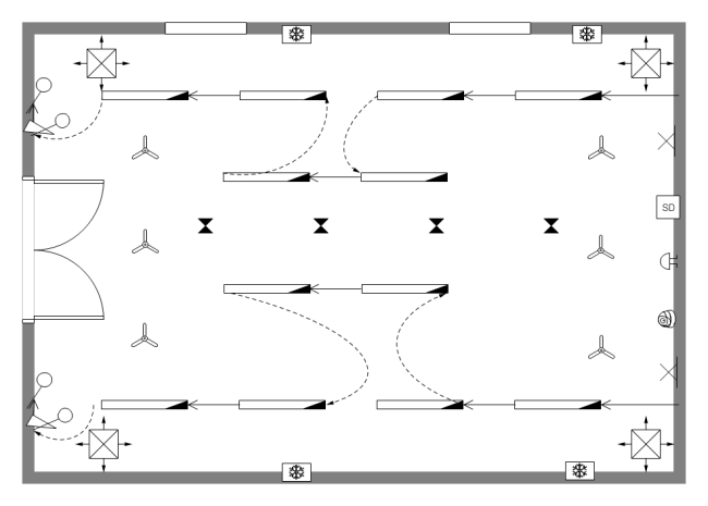 Reflected Ceiling Plan Example