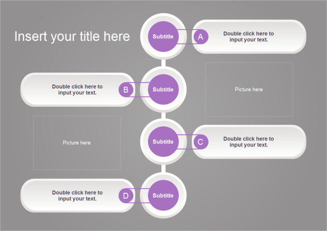 Connected Buttons Timeline | Free Connected Buttons Timeline Templates