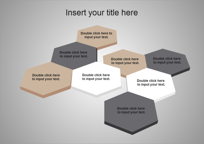 Cubic Hexagons Powerpoint