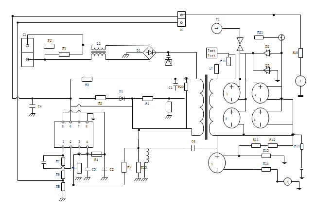 DC Output Diagram