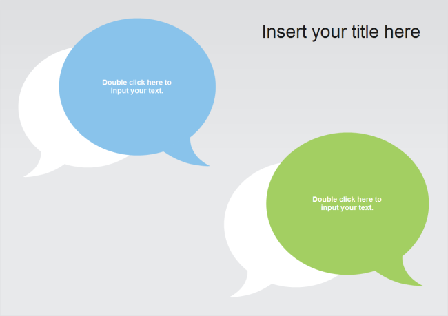 Dialogue PPT Template