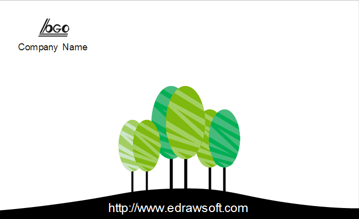 Eco Friendly Business Card Back