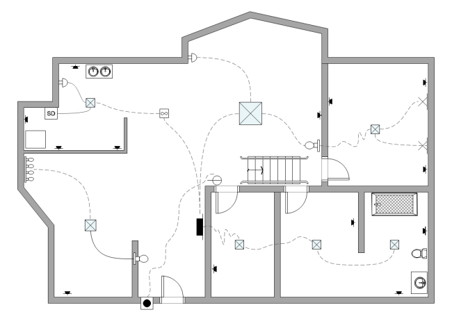 [DIAGRAM_4FR]  How to Create House Electrical Plan Easily | Electrical Plan Layout |  | Edraw