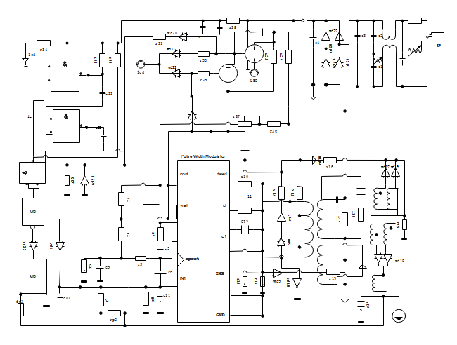 wiring diagram read and draw wiring diagrams rh edrawsoft com Circuit Board Wiring- Diagram