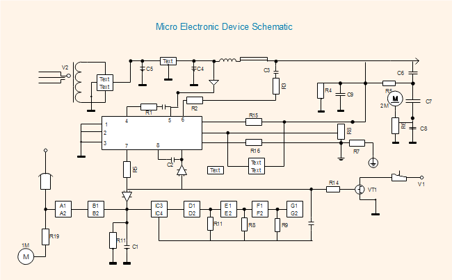 Electronic Device Schematic