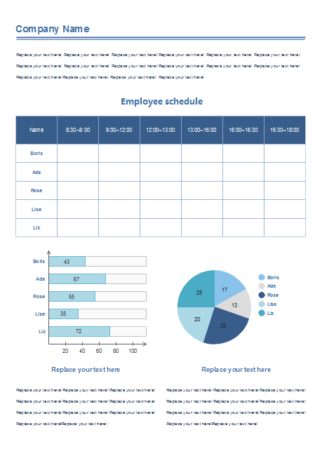 Define Employee Work Schedule