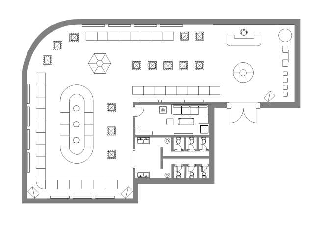 Exhibition Hall Plan Free Templates