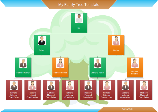 free editable family tree template powerpoint - gse.bookbinder.co, Modern powerpoint