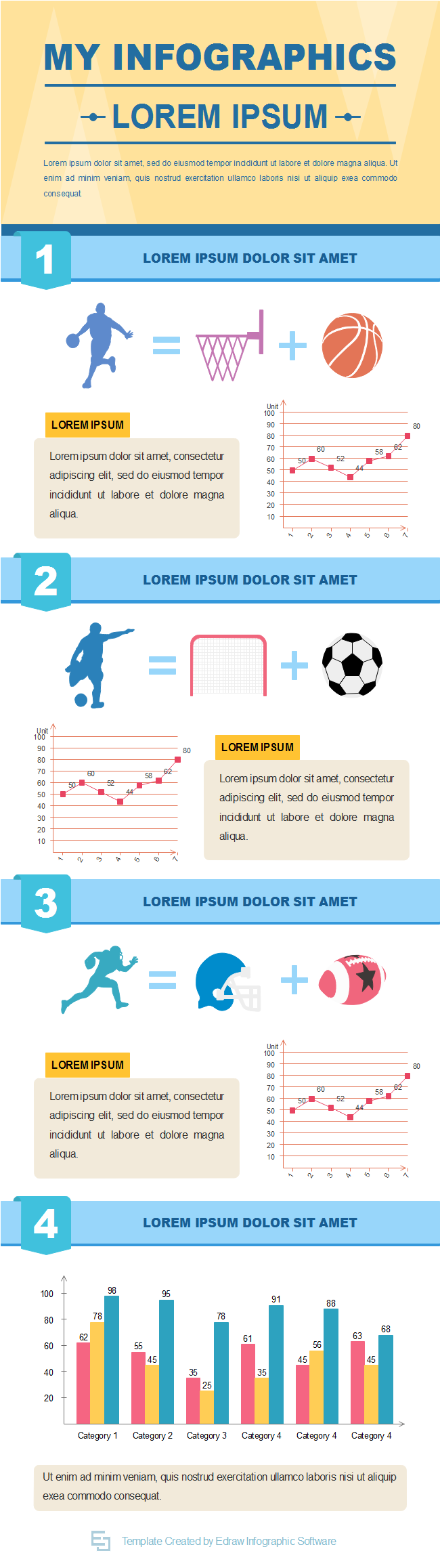 Favorite sport infographic free favorite sport for Sports infographics templates