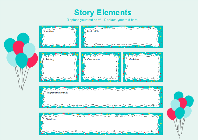 Festival Elements Storyboard Graphic Organizer